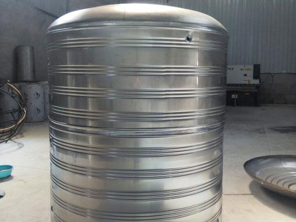 定製不鏽鋼圓形生活水箱