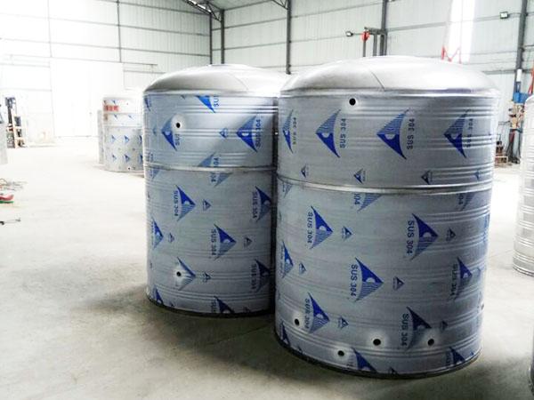 兰州圆柱形不锈钢水箱定制