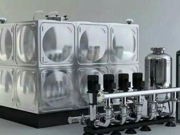 不鏽鋼生活水箱安裝