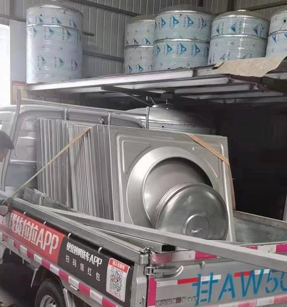 白银组合式不锈钢水箱