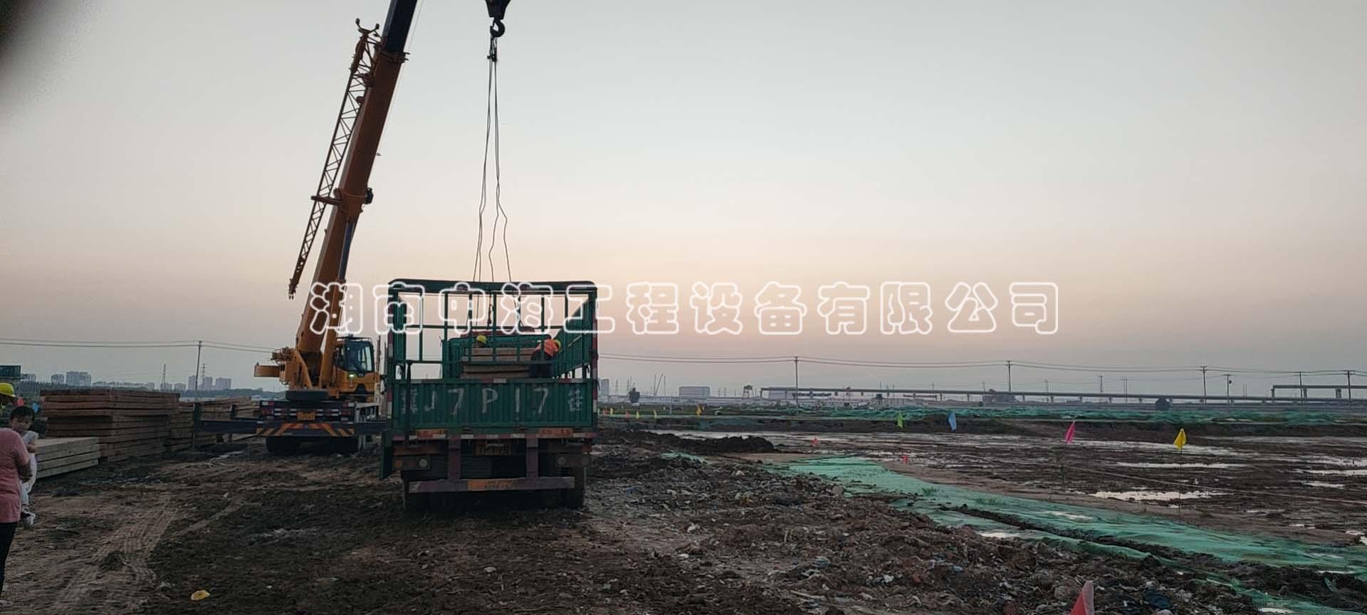 广东广州钢板路基箱租赁出租发往中建二局雄安工地