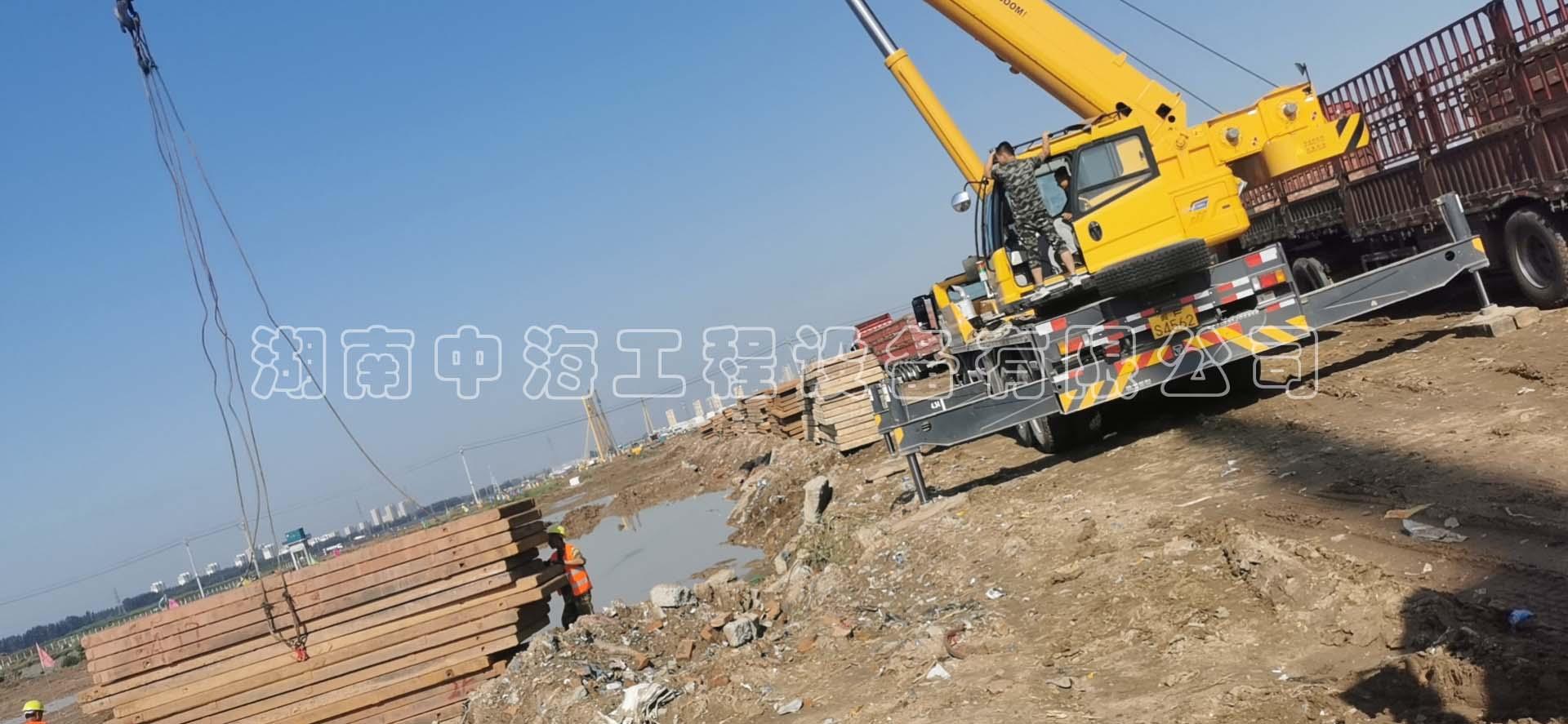 广州/深圳钢板出租需要注意的事项有哪些?