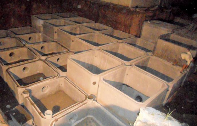 成品钢筋混凝土化粪池安装