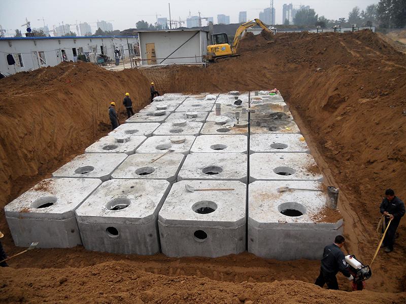 钢筋混凝土新品化粪池