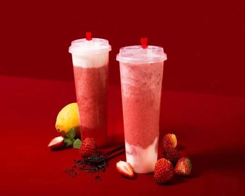 """冬季草莓熟了,2款草莓饮品,让你""""莓莓""""跨年"""