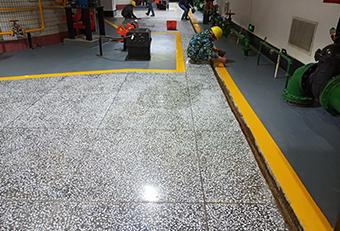 水磨石固化