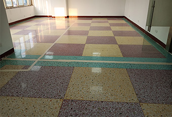 做了水磨石固化的地坪还能防滑吗?
