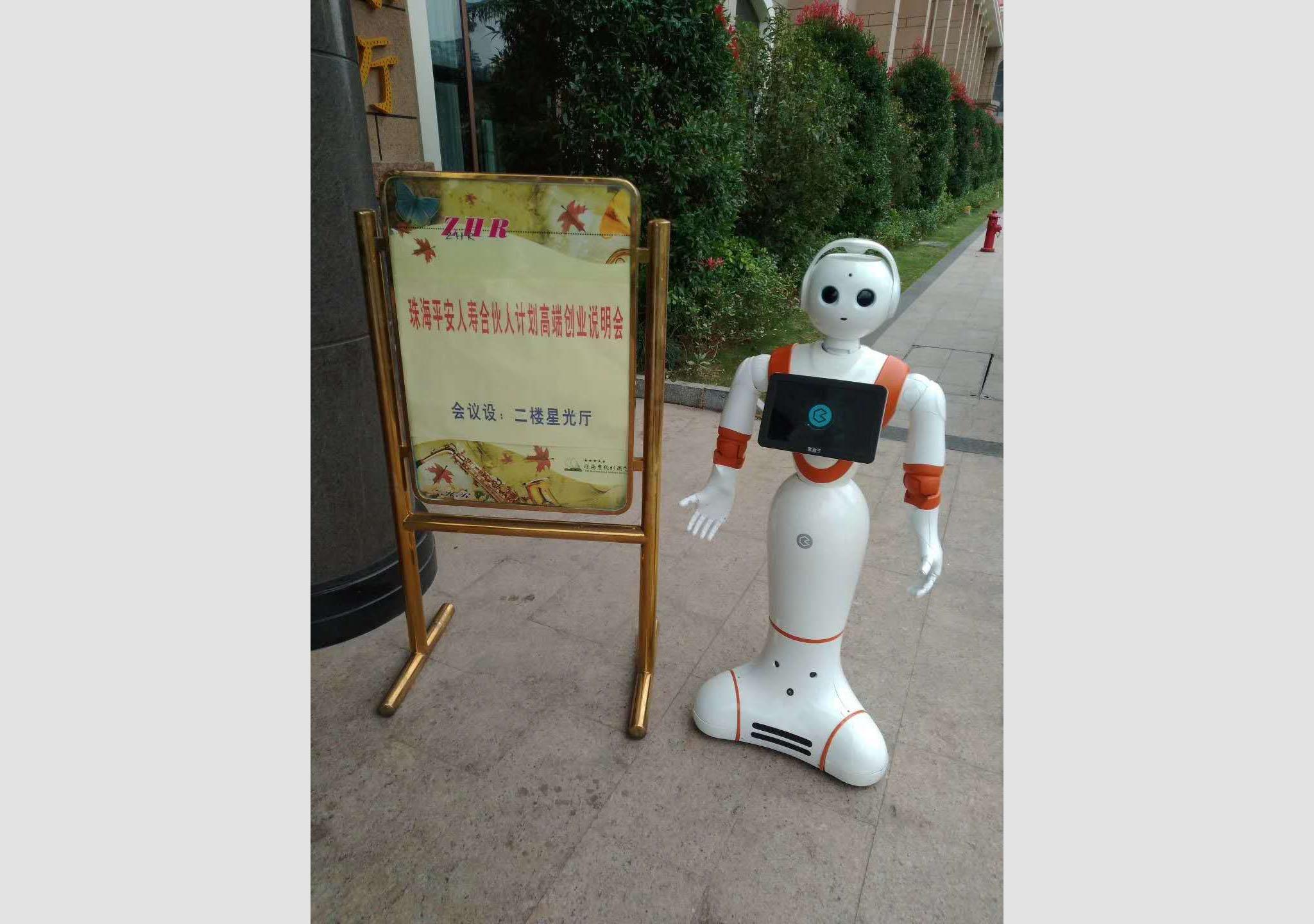 黑豆指导机器人