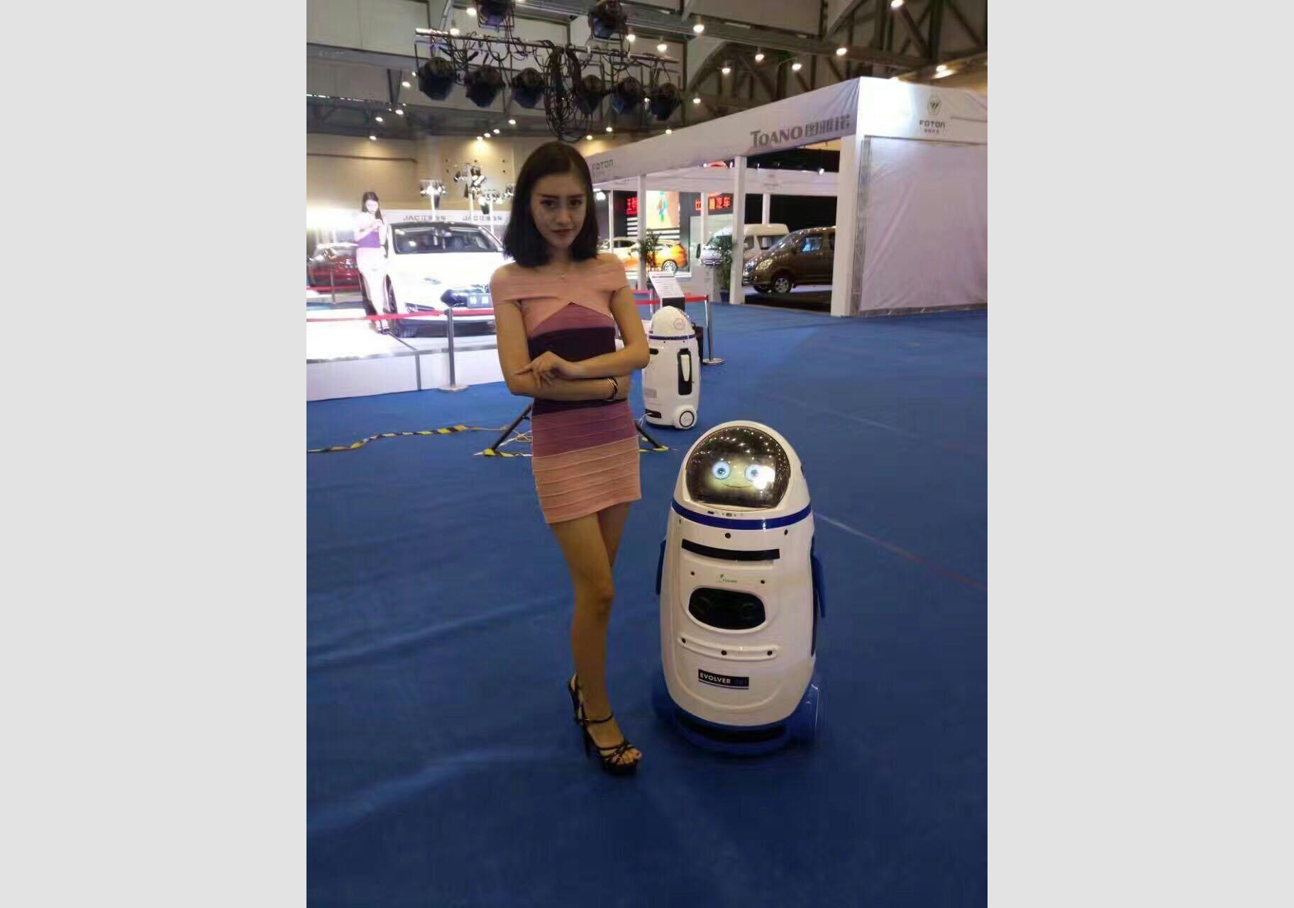 汽车销售迎宾机器人