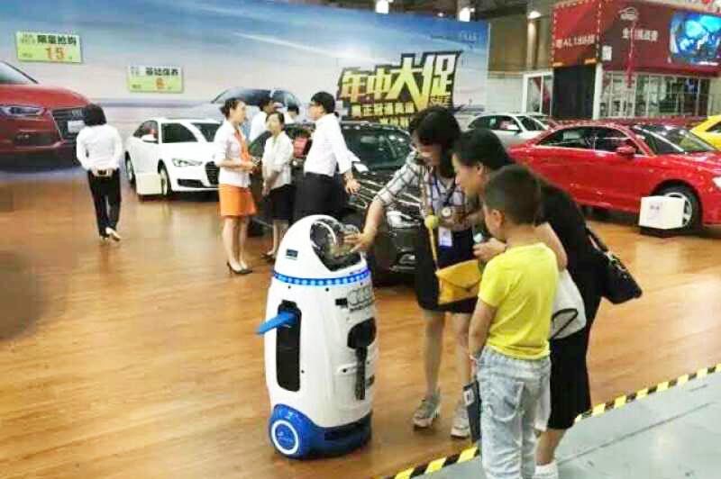 汽车4S店机器人