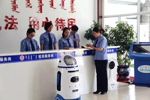 检测站机器人