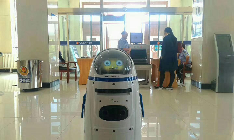 政府大厅机器人