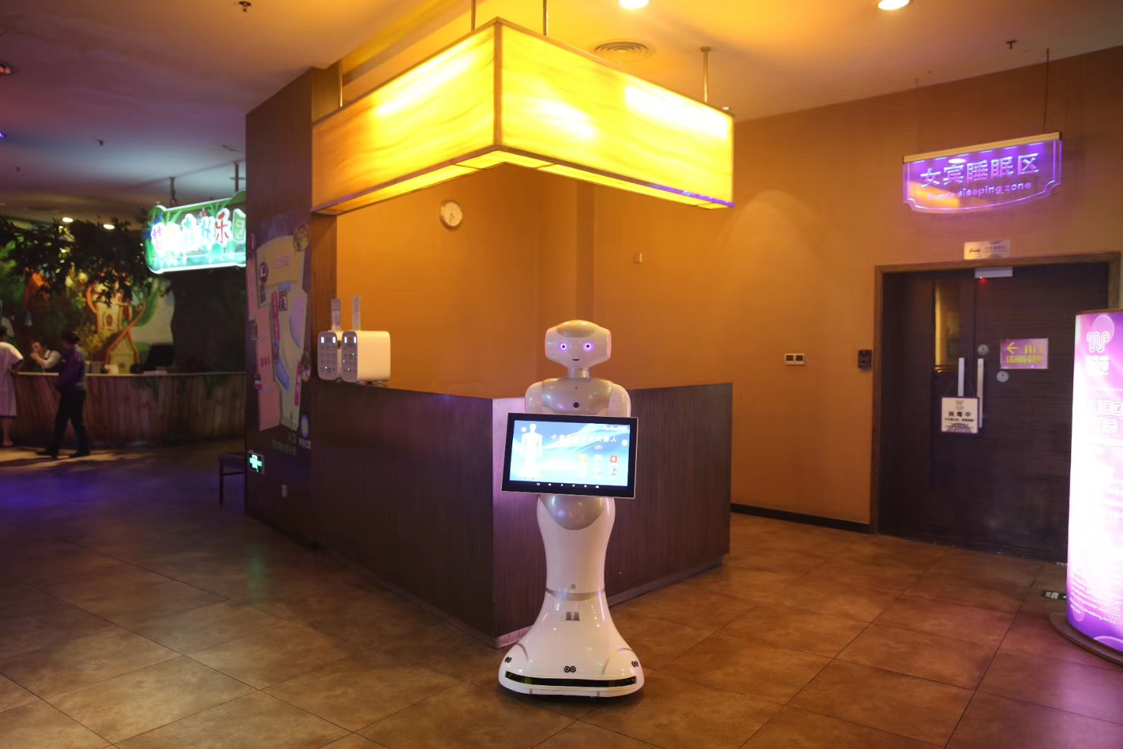 Hotel business robot