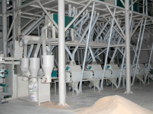 150吨级小麦磨粉设备