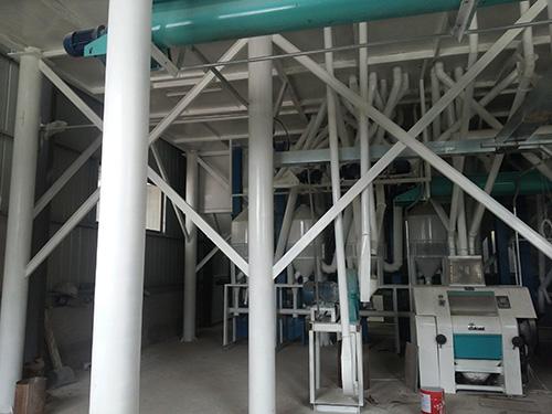 100吨玉米面加工设备