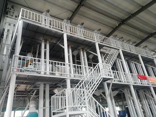 广西100吨级大米加工设备