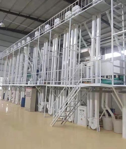 100吨级大米加工设备价格