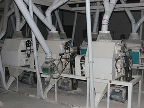 60吨级面粉机成套设备新疆阿克苏