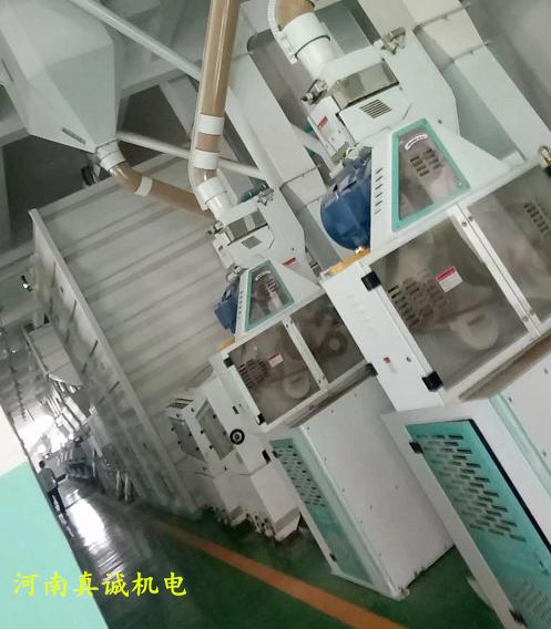 50吨大米加工机组