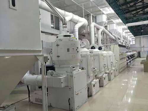 新型大米加工生产线