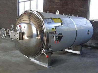 碳钢蒸汽杀菌锅