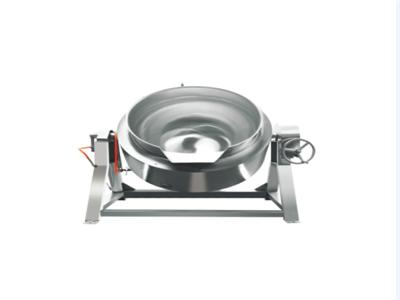 立式燃气夹层锅