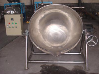 夹层锅制作香辣猪肉干--山东杀菌锅生产厂家