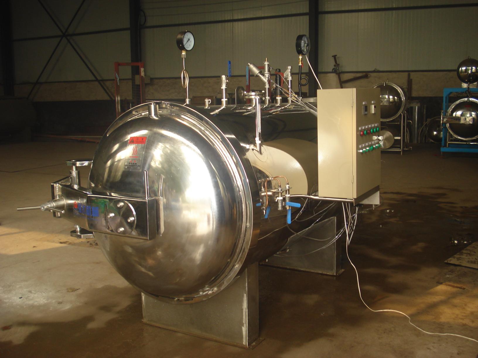 杀菌锅的几大分类--山东杀菌锅生产厂家