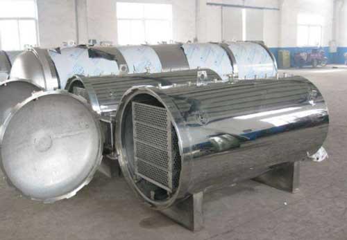 蒸汽加压水浸式杀菌锅的工作原理