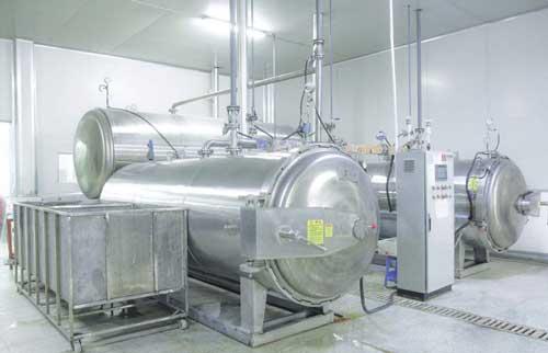 粽子蒸煮锅的名称、用途以及特点--山东杀菌锅生产厂家