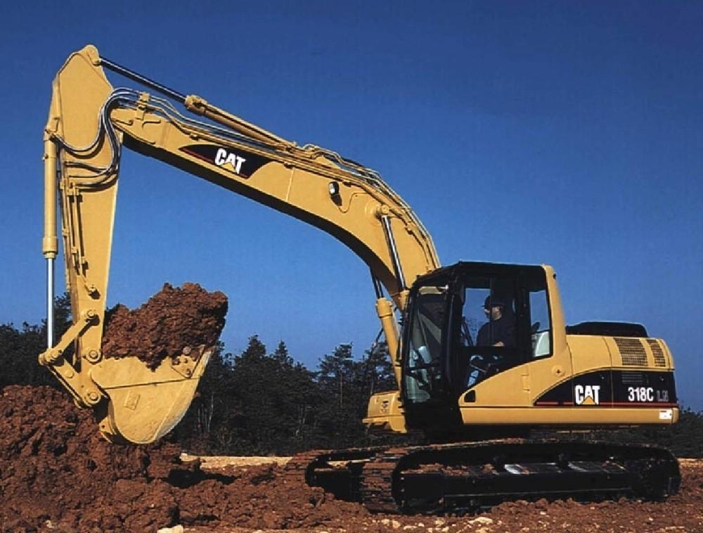 云南昆明卡特挖机分配阀维修服务站分析卡特挖机320c油温过高的原因