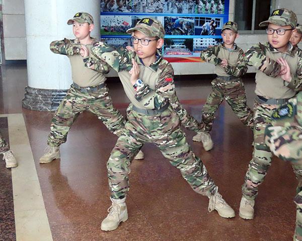 军体拳操练