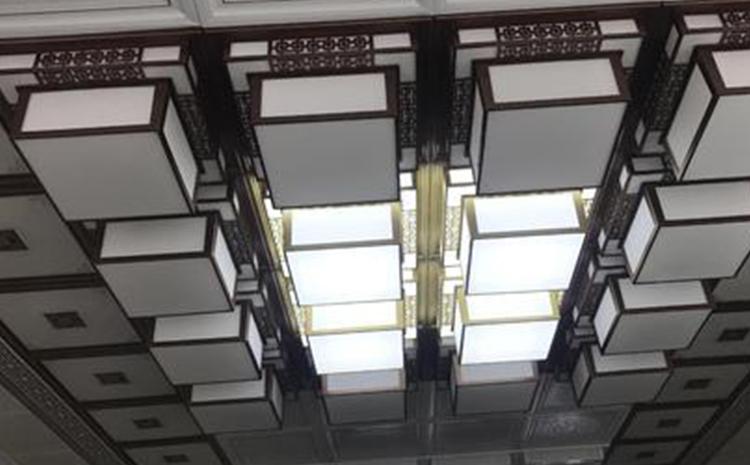 二级铝扣吊顶
