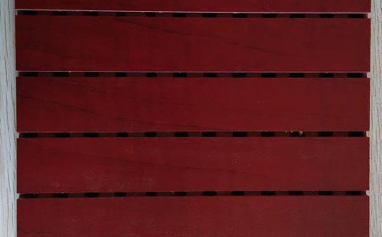 福州阻燃木质吸音板