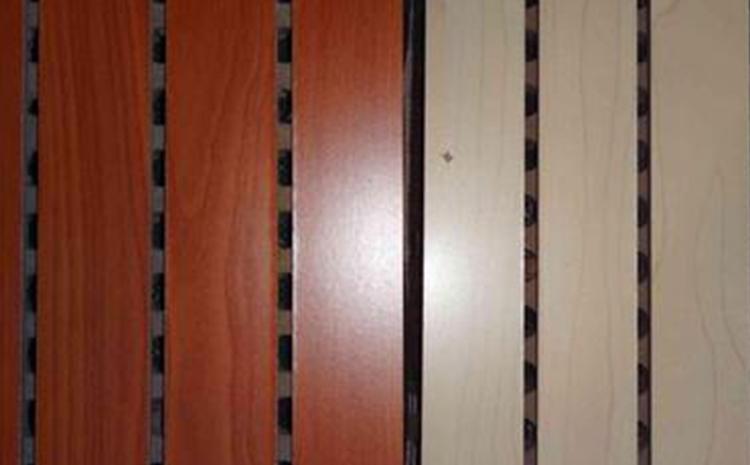 阻燃环保多孔木质吸音板