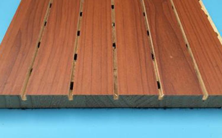 福州条形木质吸音板