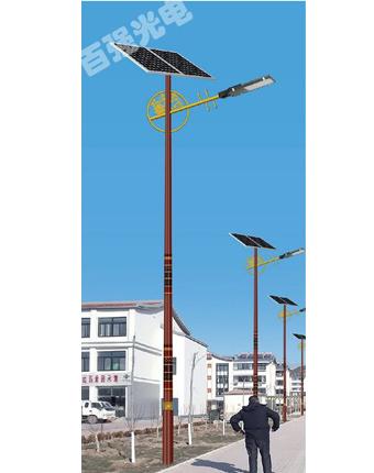 银川太阳能一体化路灯