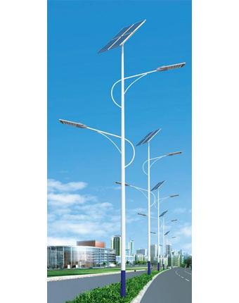 蘭州雙臂太陽能路燈規格