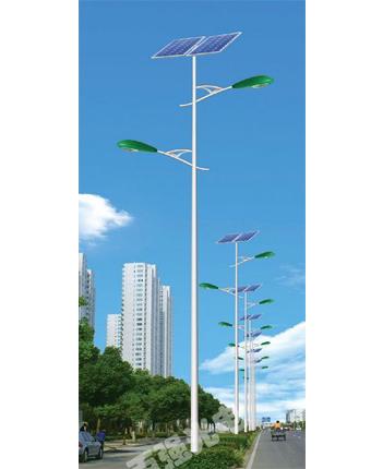 寧夏雙臂太陽能路燈批發