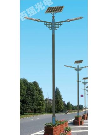 西安双臂太阳能景观路灯