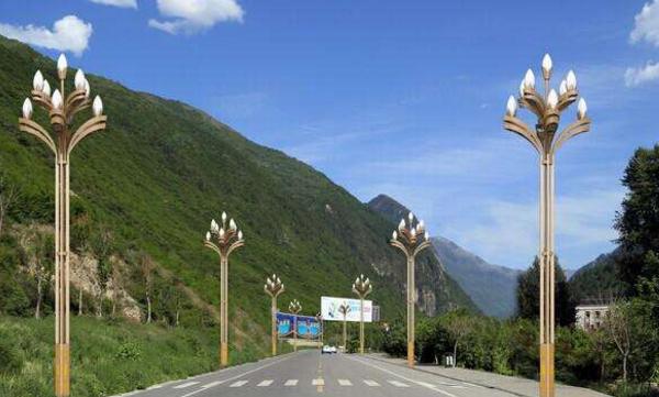 西安照明路燈廠家淺談中華燈來源與含義