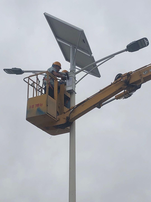 咸阳声威集团太阳能乐虎国际lehu805锂电物联网系统 改造
