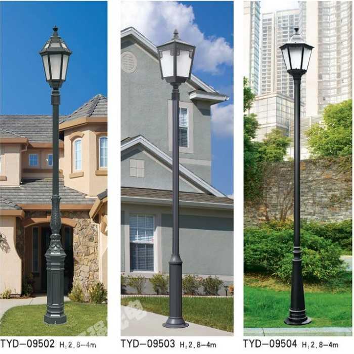 渭南太陽能庭院燈