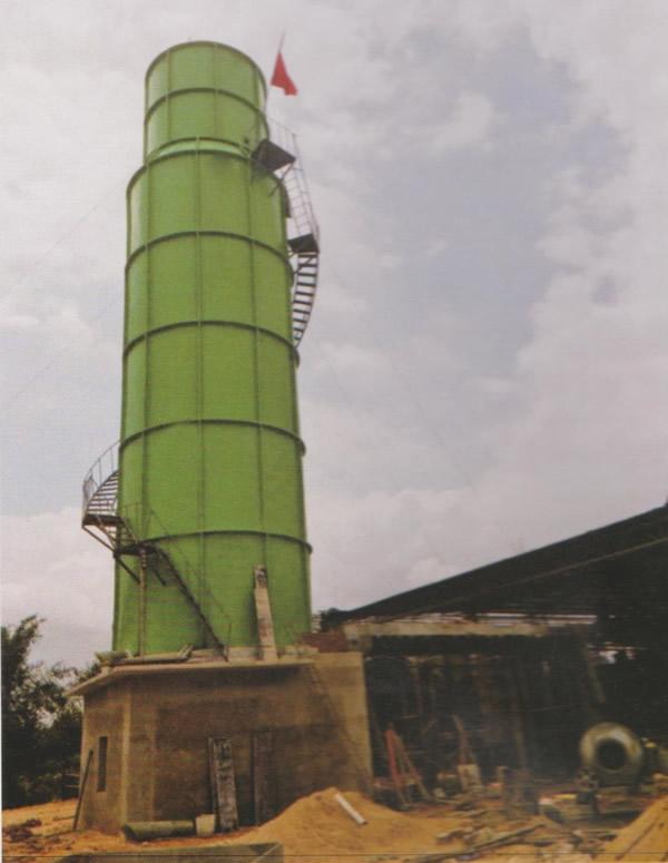 西安玻璃钢废气净化塔