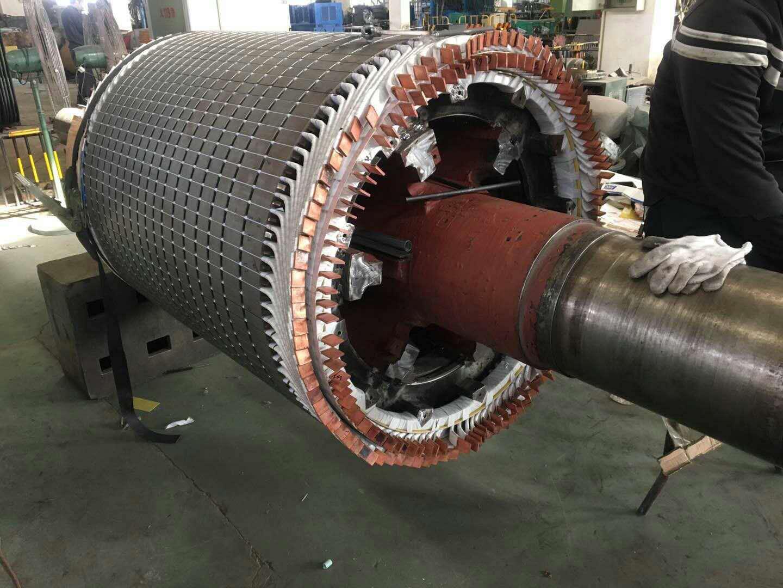 1万伏高压电机线理检修工程