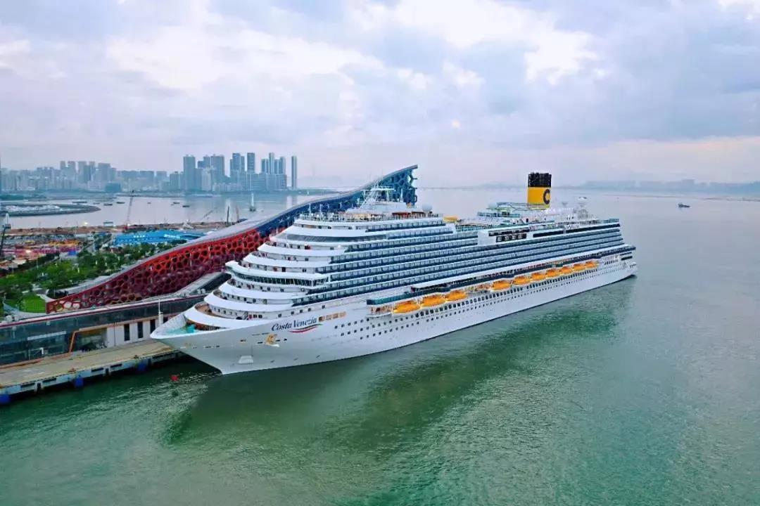专为中国市场设计,歌诗达邮轮威尼斯号抵达深圳