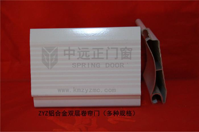 鋁合金卷簾門(雙層)