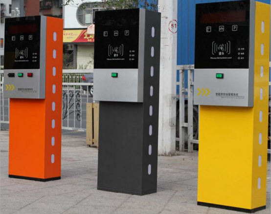 停車場管理系統系統停車場票箱