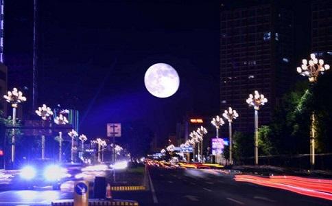 昆明路灯照明工程点亮夜色经济