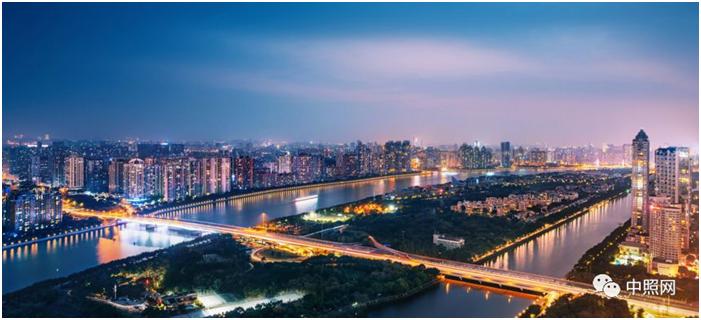广州二沙岛景观照明东西辉映